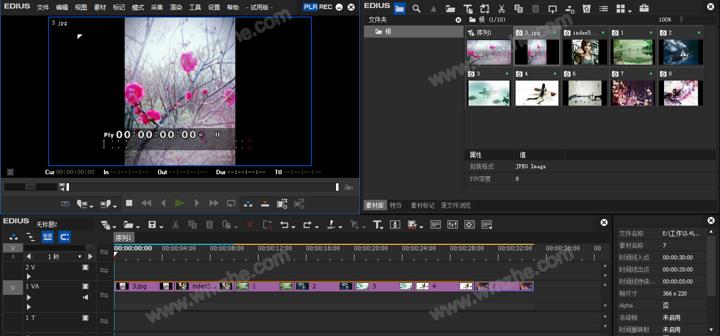 EDIUS批量处理图片大小教程 EDIUS怎么批量调整图片