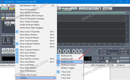 怎么用Cool edit pro合并音乐 Cool edit pro合并音频片段教程