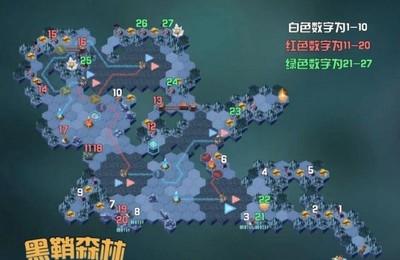 <b>剑与远征黑鞘森林攻略 奇境探险路线图一览</b>