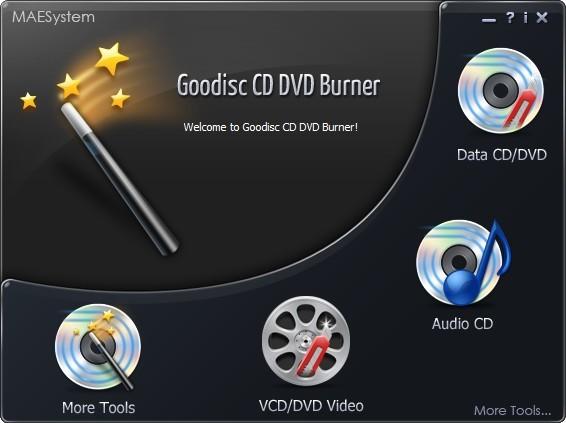 <b>GoodiscCDDVDBurner v8.8.0 正式版</b>