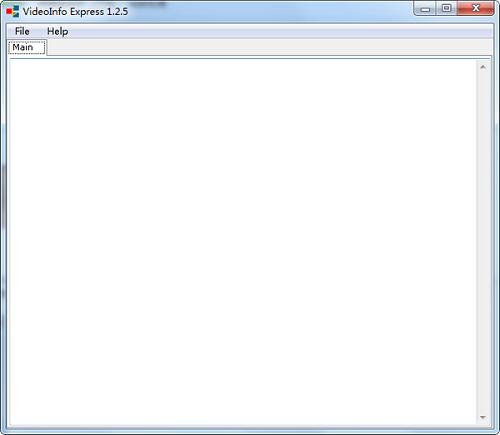 <b>VideoInfoExpress v1.2.5 正式版</b>