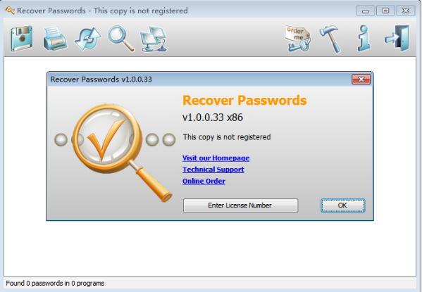 RecoverPasswords v1.0.0.33 正式版