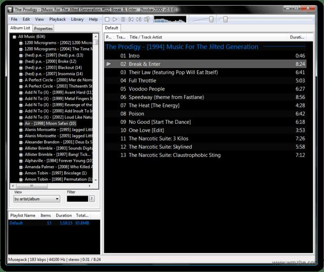 Foobar2000V1.5.0.0官方英文版