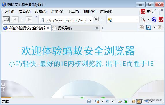 蚂蚁浏览器MyIE9V9.0.0.390