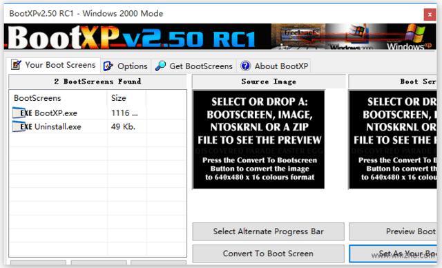 <b>BootXP登陆界面更换器</b>