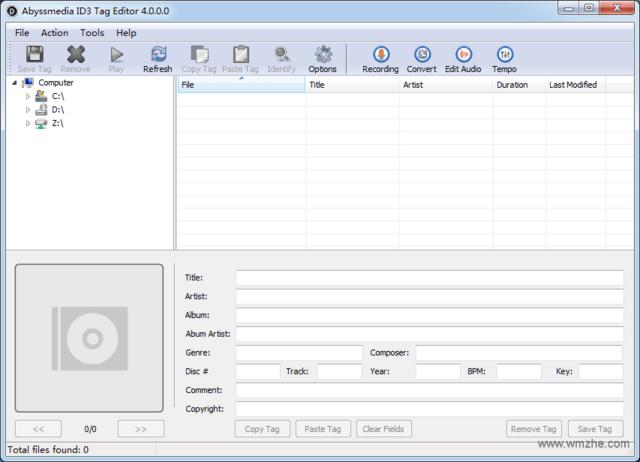 AbyssmediaID3TagEditor(ID3音乐标签编辑器)V4.0官方版