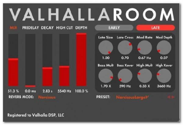 ValhallaRoom(混响效果器)V1.1.1官方版
