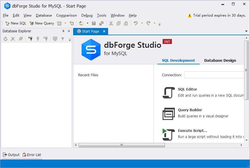 dbForgeStudioforMySQLV8.0.4官方版