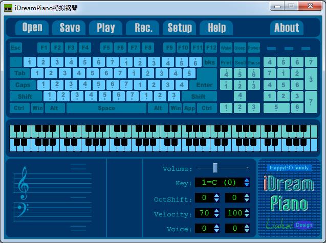 <b>iDreamPiano模拟钢琴V4.05绿色版</b>