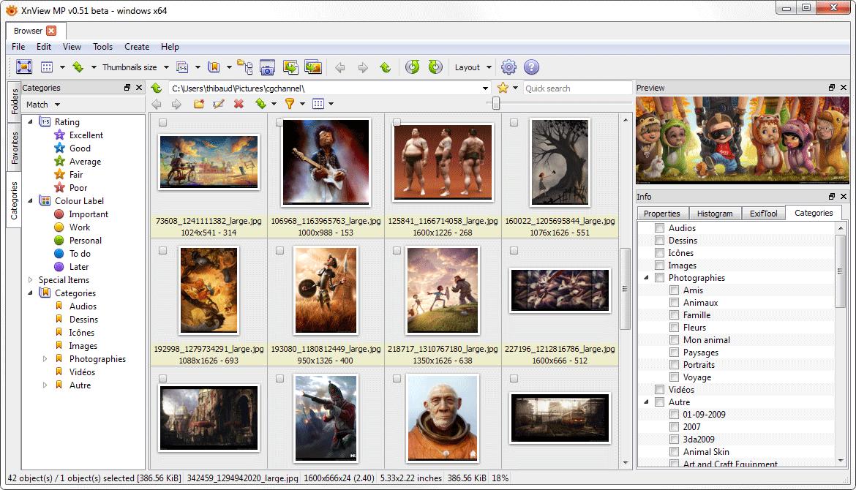 XnViewMPV0.96.0.0绿色版