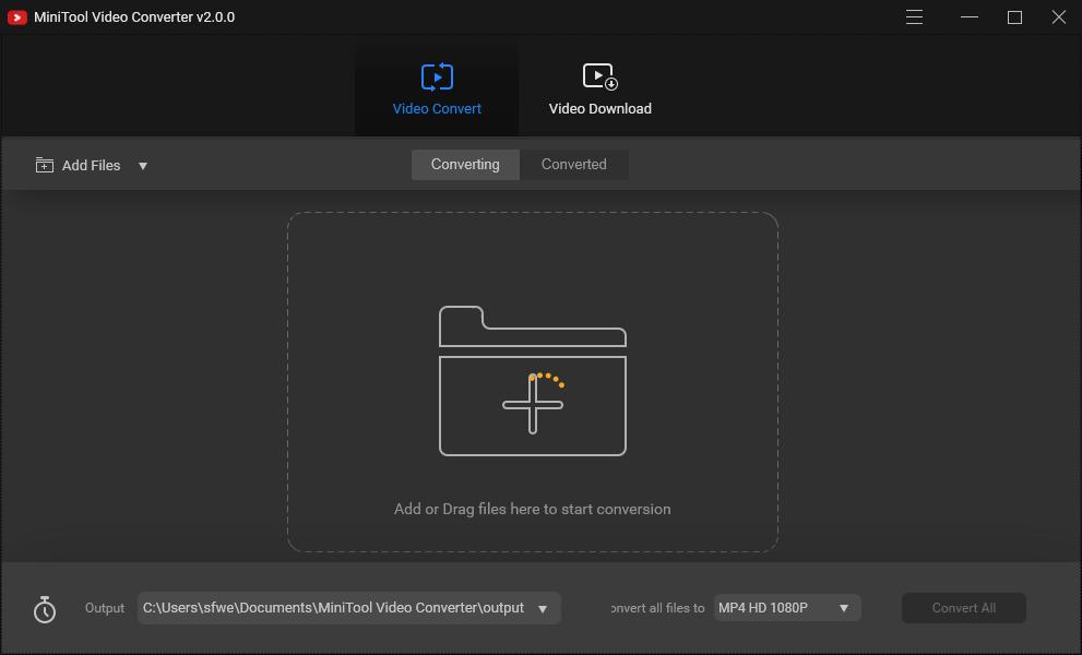 <b>MiniToolVideoConverterV2.0官方版</b>