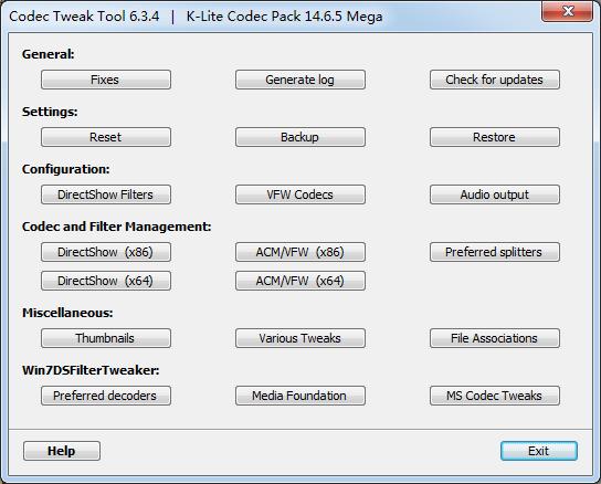 <b>K-LiteMegaCodecPackV15.6.0.0测试版</b>