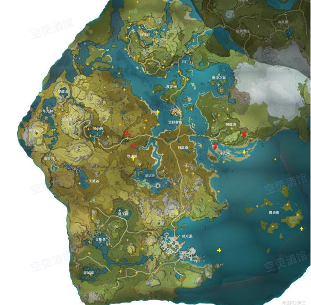 原神131个风神瞳地图位置整理 原神全风神瞳寻找攻略