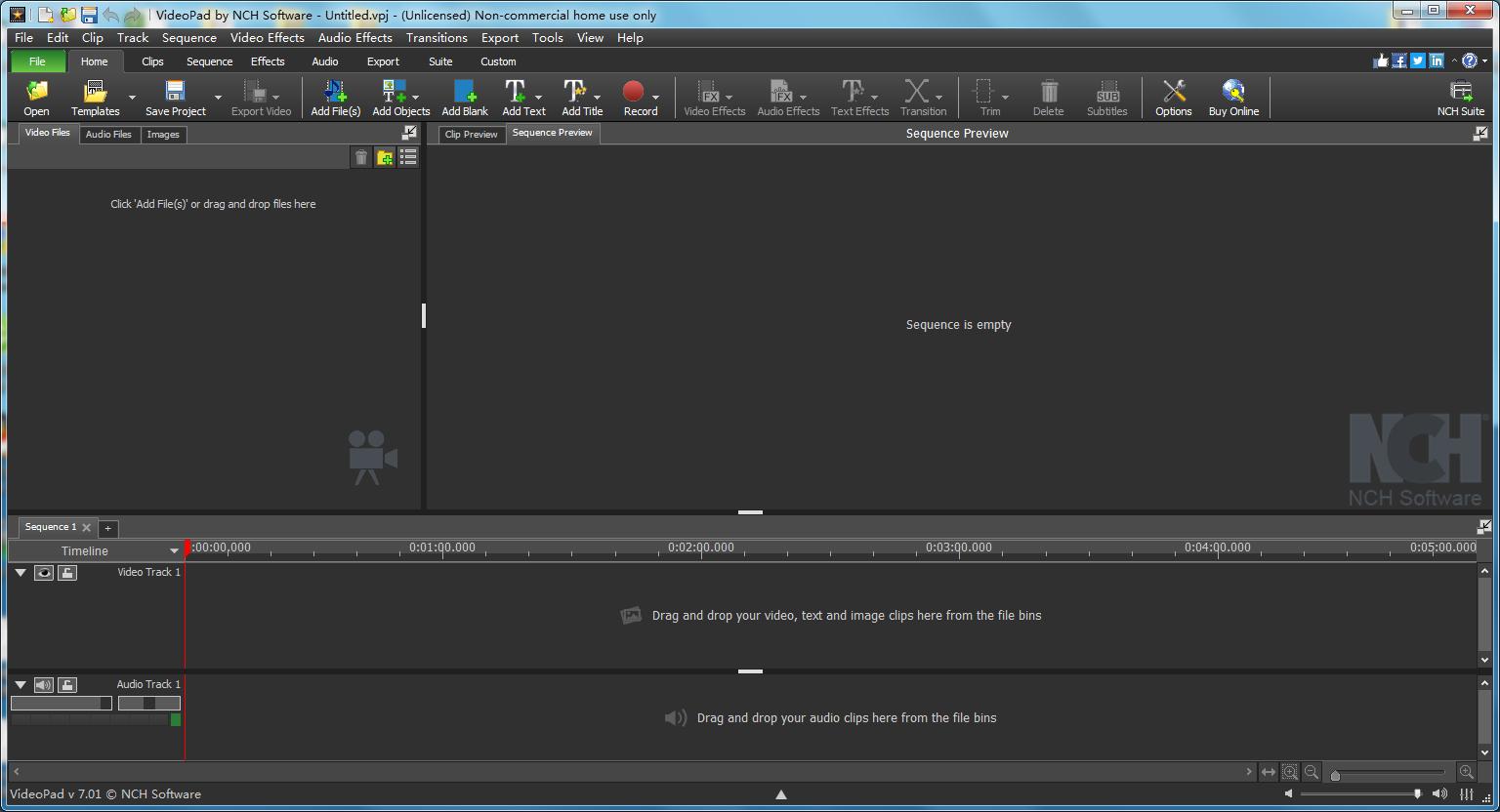 VideoPadVideoEditorV8.77官方版