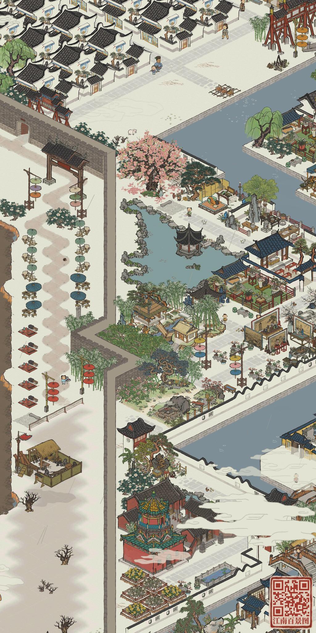 江南百景图杭州三角区怎么布局好 杭州三角区最