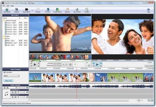 VideoPadVideoEditorV8.94官方版