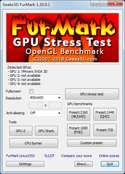 FurMarkV1.21.1.0官方版