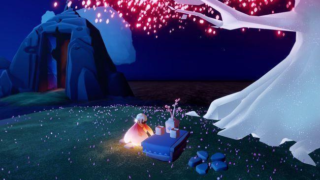 光遇樱花树烛火掉落时间是多久 樱花树烛火掉落时间详情一览