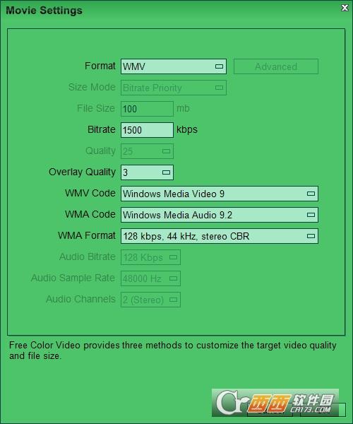 视频颜色调整软件Free Color Video