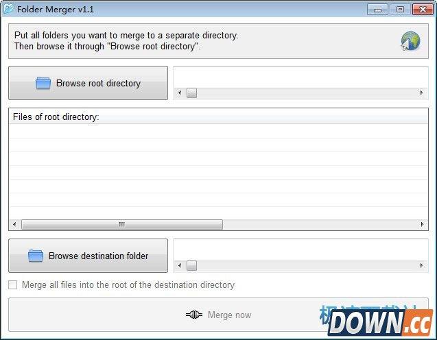 Folder Merger 1.0.1 英文版