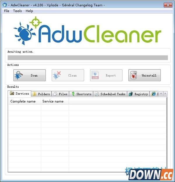 AdwCleaner(扫描及清理广告软件) 5.034 英文版