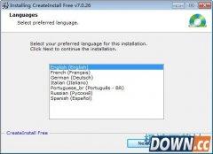 CreateInstall free 7.3.3 多国语言版