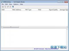 WifiInfoView(无线网络扫描软件) 1.9.6.1 英文版