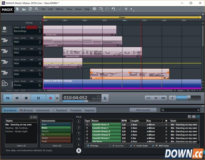 Magix Music Maker v22.0.3.63 官方版