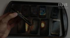 历代苹果手机防火测试 越新越惨