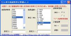 51单片机波特率计算器 V308216 官方版
